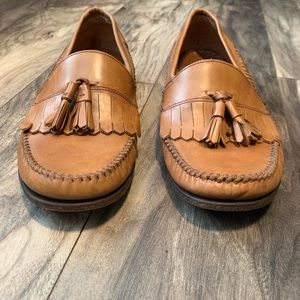 Bass Shoes - Bass mens size 8.5 Loafers Tassel Slip on